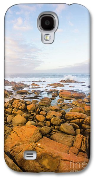 Galaxy S4 Case featuring the photograph Shore Calm Morning by Jorgo Photography - Wall Art Gallery