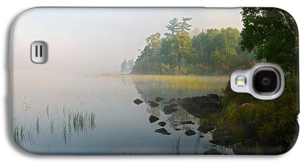 Shoreline Trees And Grasses Along Nina Galaxy S4 Case by Panoramic Images