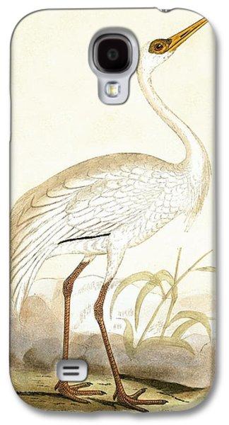 Siberian Crane Galaxy S4 Case by English School