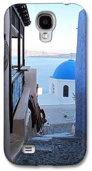 Side Street Santorini Galaxy S4 Case by Martine Murphy