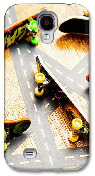 Side Streets Of Skate Galaxy S4 Case by Jorgo Photography - Wall Art Gallery