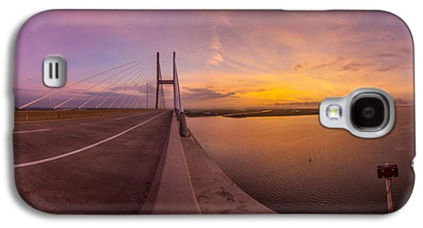 Sidney Lanier Bridge Twilight Panorama Galaxy S4 Case