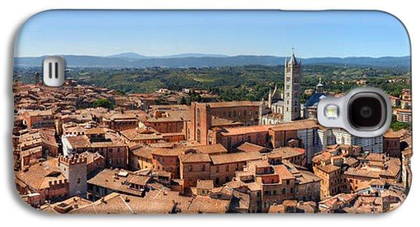 Siena, Italy Panorama Galaxy S4 Case by Michal Bednarek