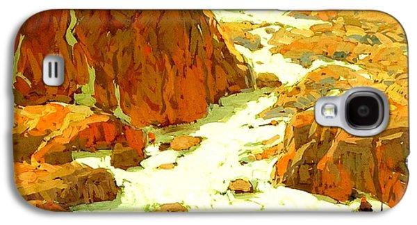 Sierra Landscape Circa 1920 Galaxy S4 Case