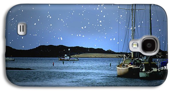 Silent Night Harbor Galaxy S4 Case by Stephanie Laird