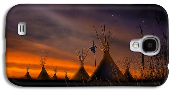 Silent Teepees Galaxy S4 Case