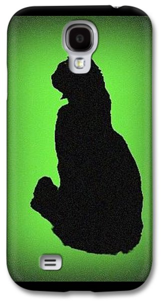 Galaxy S4 Case featuring the photograph Silhouette by Karen Shackles