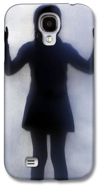 Silhouette Of A Girl Galaxy S4 Case by Joana Kruse