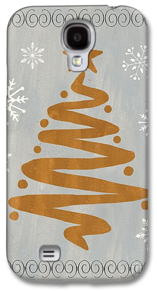 Silver Gold Tree Galaxy S4 Case by Debbie DeWitt