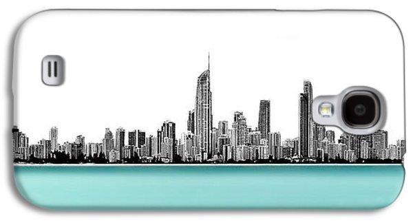 Silver Linings Panorama Galaxy S4 Case by Az Jackson