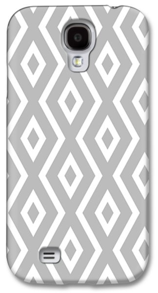 Beach Galaxy S4 Case - Silver Pattern by Christina Rollo