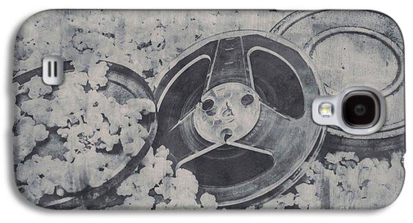 Silver Screen Film Noir Galaxy S4 Case by Jorgo Photography - Wall Art Gallery