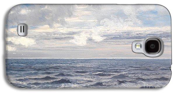 Silver Sea Galaxy S4 Case by Henry Moore