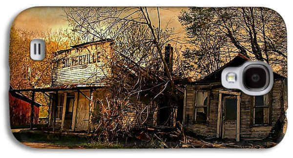 Silverville Ghost Town In Browns Galaxy S4 Case by Julie Dant