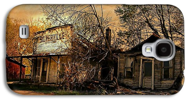 Silverville Ghost Town In Browns Galaxy S4 Case