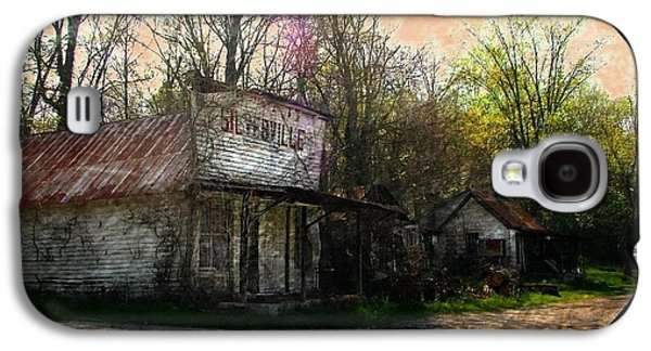 Silverville Ghost Town Galaxy S4 Case by Julie Dant