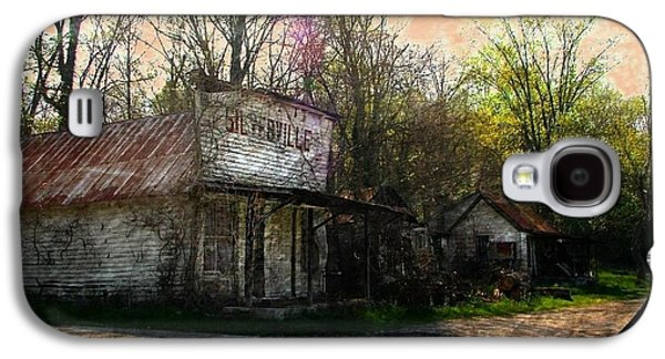 Silverville Ghost Town Galaxy S4 Case