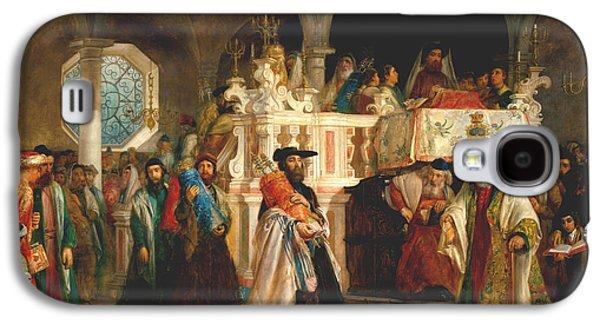 Simchat Torah, Livorno, 1850  Galaxy S4 Case