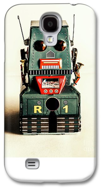 Simple Robot From 1960 Galaxy S4 Case by Jorgo Photography - Wall Art Gallery