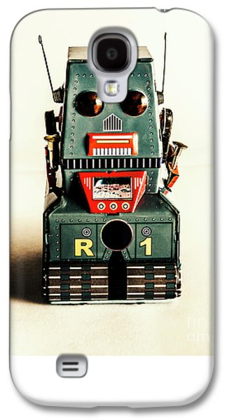 Simple Robot From 1960 Galaxy S4 Case