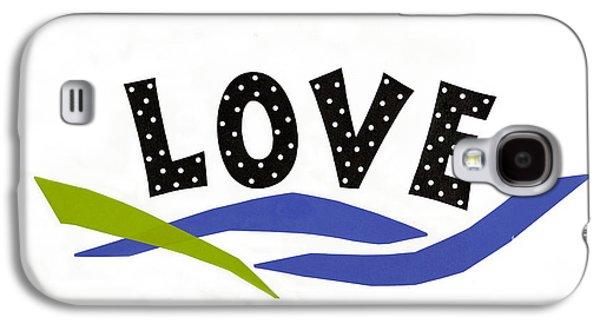 Simply Love Galaxy S4 Case by Gloria Rothrock