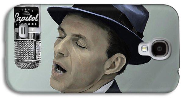 Sinatra - Color Galaxy S4 Case