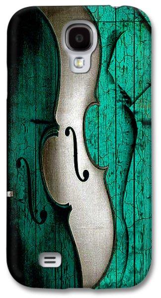 Violin Galaxy S4 Case - Sinful Violin by Greg Sharpe