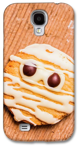Single Homemade Mummy Cookie For Halloween Galaxy S4 Case by Jorgo Photography - Wall Art Gallery