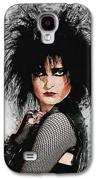 Robert Smith Music Galaxy S4 Case - Siouxsie Sioux by Zapista