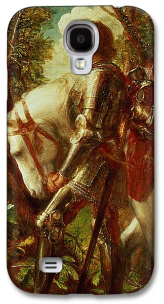 Knight Galaxy S4 Case - Sir Galahad by George Frederic Watts