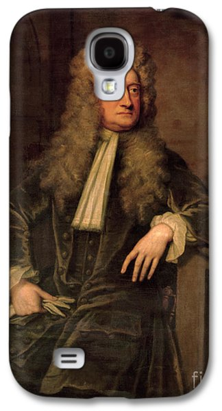 Sir Isaac Newton  Galaxy S4 Case by Sir Godfrey Kneller
