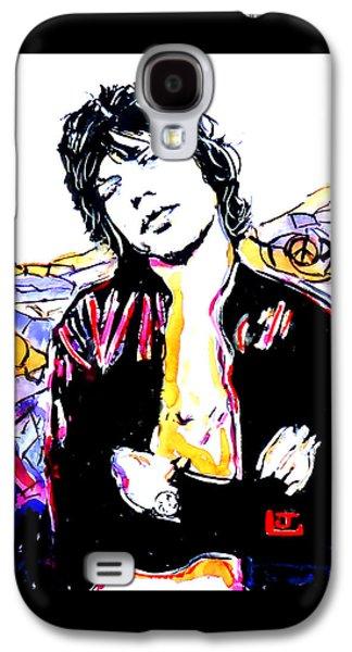 Sir Mick Jagger Galaxy S4 Case by John Leclerc