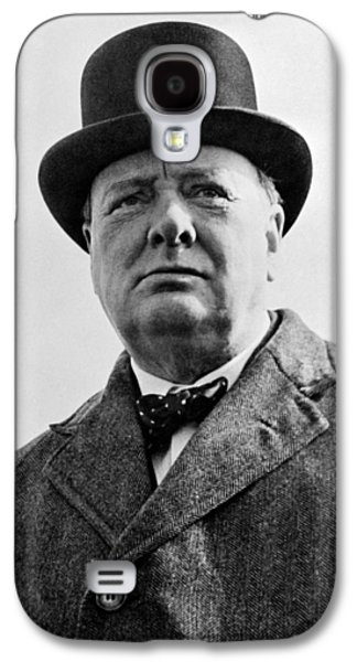 Sir Winston Churchill Galaxy S4 Case
