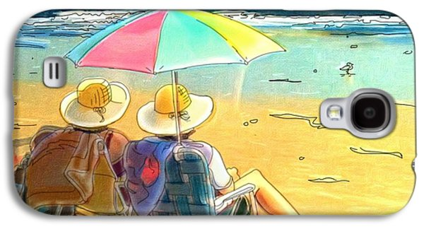 Sisters At The Beach Galaxy S4 Case