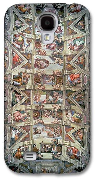 Sistine Chapel Ceiling Galaxy S4 Case