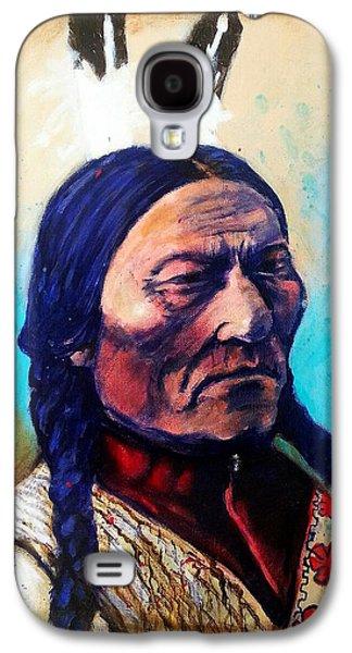 Sitting Bull Galaxy S4 Case by Chris Bahn