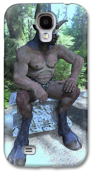 Sitting Bull Galaxy S4 Case by Joaquin Abella
