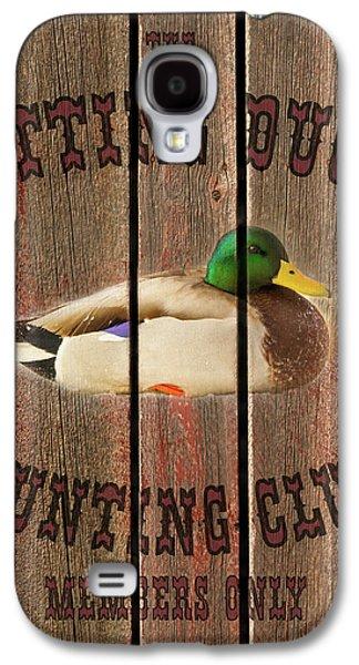 Sitting Duck Hunting Club Galaxy S4 Case
