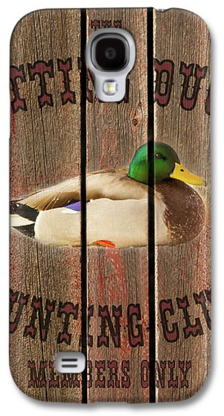 Sitting Duck Hunting Club Galaxy S4 Case