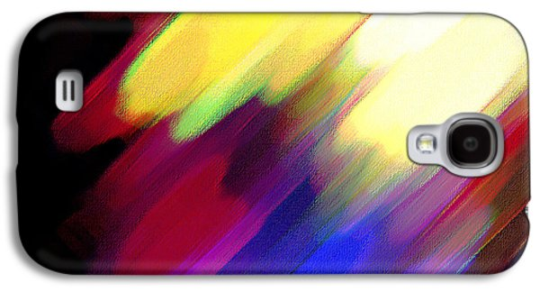 Sivilia 1 Abstract Galaxy S4 Case by Donna Corless