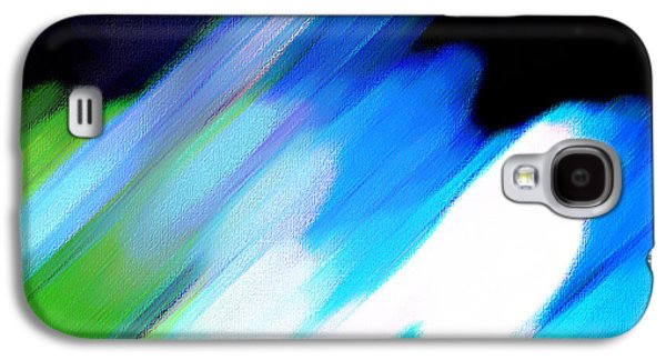 Sivilia 10 Abstract Galaxy S4 Case by Donna Corless