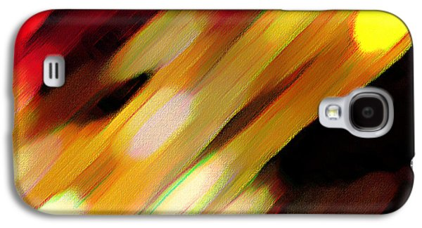 Sivilia 11 Abstract Galaxy S4 Case by Donna Corless