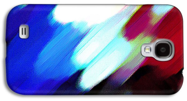 Sivilia 12 Abstract Galaxy S4 Case by Donna Corless