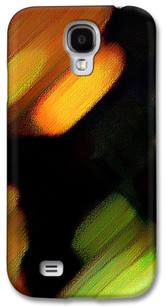 Sivilia 6 Abstract Galaxy S4 Case by Donna Corless