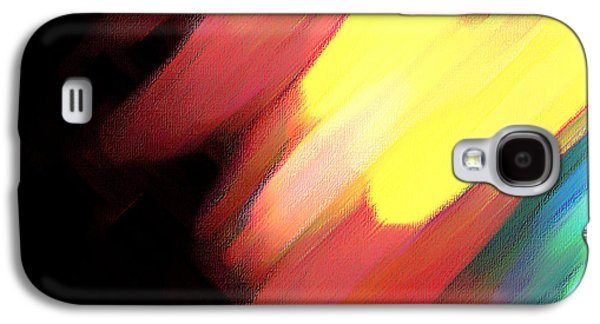 Sivilia 9 Abstract Galaxy S4 Case by Donna Corless
