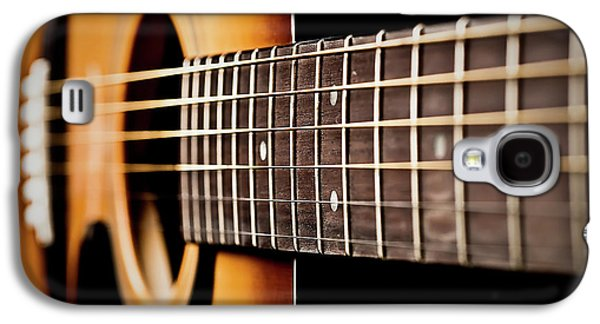 Six String Guitar Galaxy S4 Case