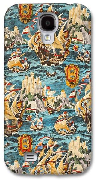 Sixteenth Century Ships Galaxy S4 Case by Harry Wearne