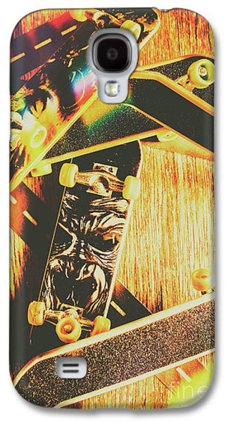 Skateboarding Tricks And Flips Galaxy S4 Case by Jorgo Photography - Wall Art Gallery