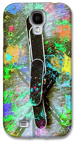 Skating Pop Art Galaxy S4 Case by Jorgo Photography - Wall Art Gallery