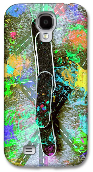 Skating Pop Art Galaxy S4 Case